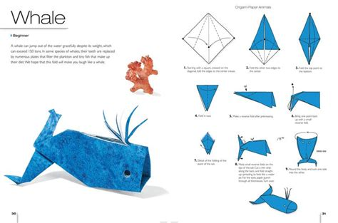 how to make an origami whale origami whale bull