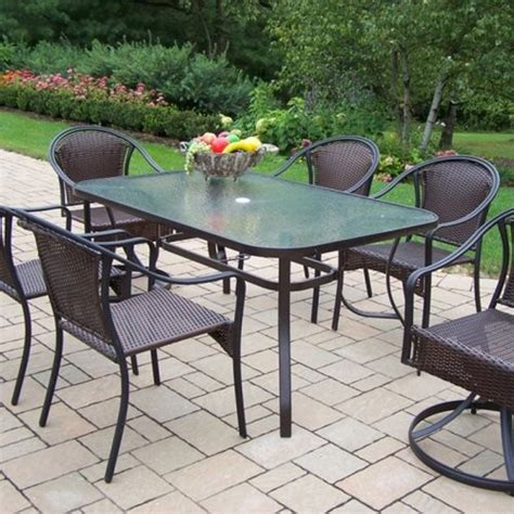 tuscany patio furniture designed for modern homes oakland living tuscany all weather wicker patio d contemporary