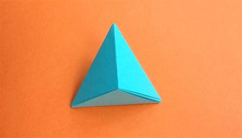 paper triangles origami origami triangle pyramid step studio design gallery