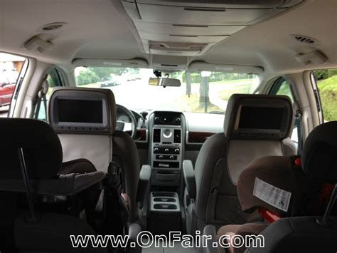 Chrysler Town And Country Dvd by Chrysler Town And Country Headrest Dvd Player Install Photos