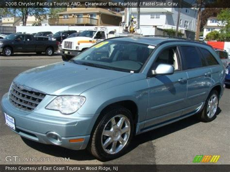 2008 Chrysler Pacifica Touring by Clearwater Blue Pearlcoat 2008 Chrysler Pacifica Touring