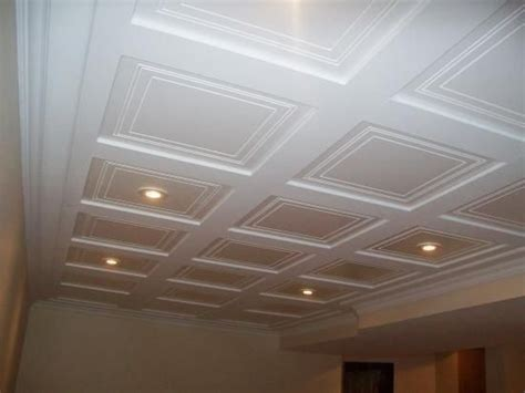 spray painting drop ceiling tiles 15 stunning basement ceiling ideas are completely overrated