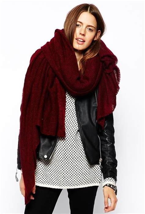 oversized knit scarves stylish scarves shemazing