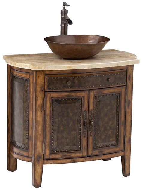 bathroom sinks vanity 36 quot rustico single vessel sink bath vanity