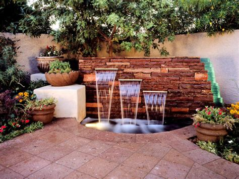 backyard feature wall ideas your backyard design style finder hgtv