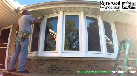 Installing A Bow Window bow window installation morton il renewal by andersen