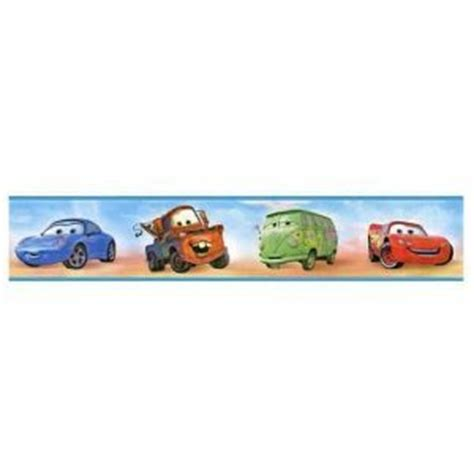 Car Themed Wallpaper Borders by Cars 2 Wallpaper Border Co Uk Diy Tools
