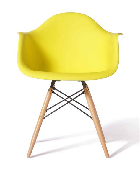 designer chair eames eames replica designer arm chair yellow furniture