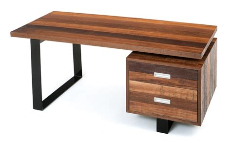 modern rustic desk soft modern desk contemporary rustic desk reclaimed wood