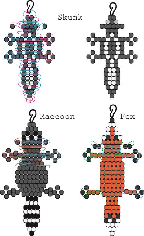 bead pets patterns best 25 bead animals ideas on