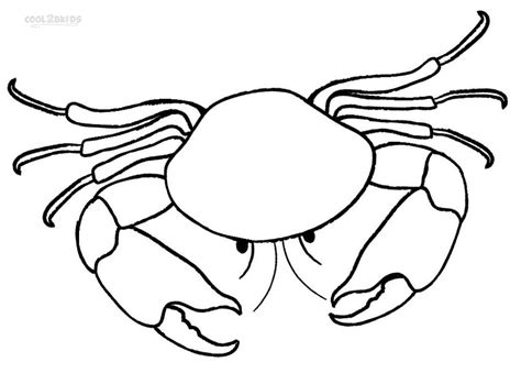 printable crab coloring pages for kids cool2bkids