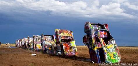 The Cadillac Ranch by Cadillac Ranch Amarillo