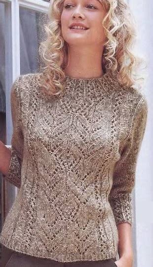 knitted lace sweater patterns knitted pullover pattern in lace lace knitting stitch