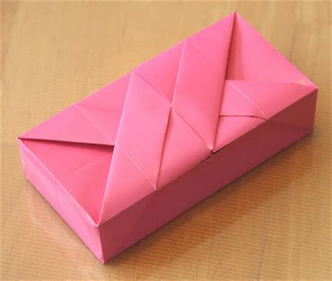 origami with rectangle paper creative creasings clemente giusto s rectangular box