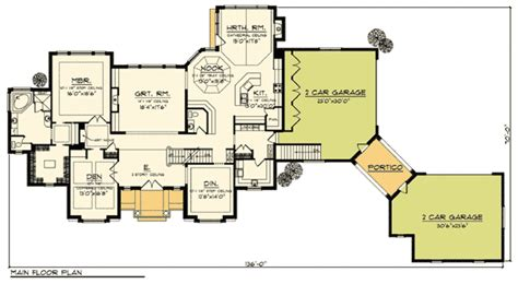 house plans with portico grand two story home plan with arched portico 89281ah