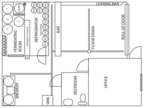nano brewery floor plan nano brewery floor plan image gallery microbrewery