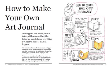 how to make your own reflective journal pink studio
