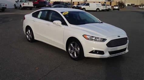 White Ford by All New 2013 Ford Fusion Se Oxford White