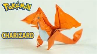 charizard origami origami charizard tutorial intermediate
