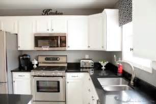 paint my kitchen cabinets white black and white kitchen remodel with painted cabinets