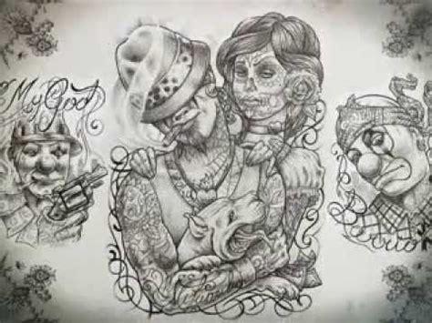 chicano tattoo design youtube
