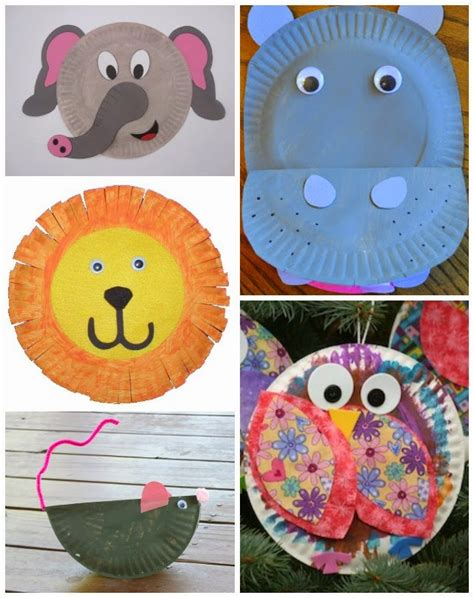 paper plate animal crafts water creatures paper plate crafts
