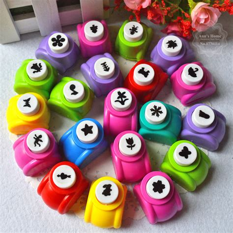paper craft punches 1pc 22styles child mini puncher printing paper craft