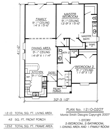 floor plans for one story homes bedroom one story house plans and floor for two homes