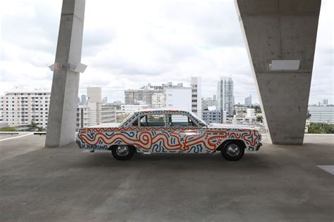 artists turn cars into canvases in automobile