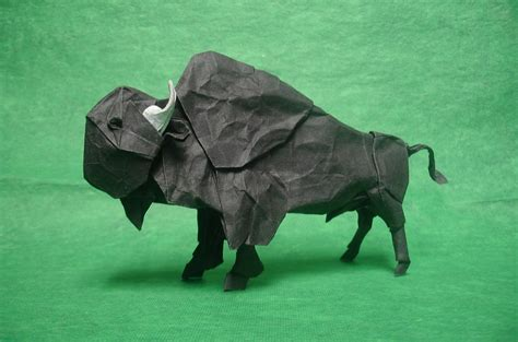origami bison this week in origami low cost airline edition