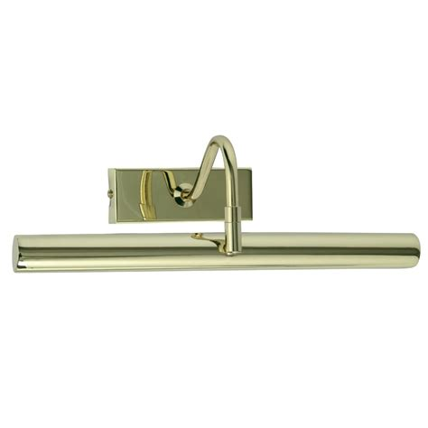 picture with lights pl led pb led picture light in polished brass