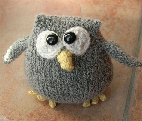 knitting patterns for owls owl knitting patterns in the loop knitting