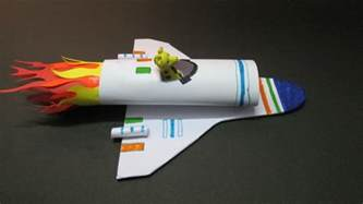 space crafts for to make crafts how to make a paper rocket at home how to