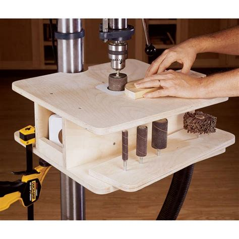 drill press for woodworking drill press drum sanding table woodworking plan from wood