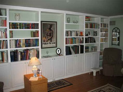 built in bookshelves diy storage diy built in large bookshelves diy built in