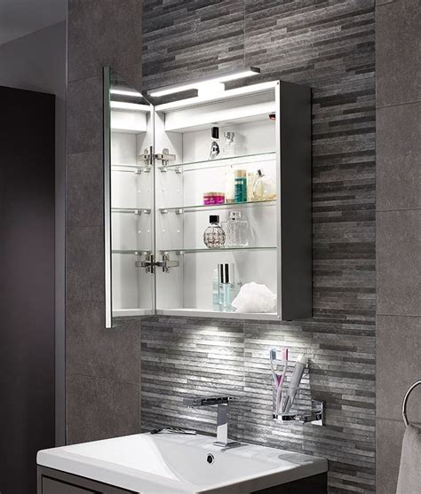 bathroom mirrors led lights led bathroom cabinet with mirror light 600mm x 500mm
