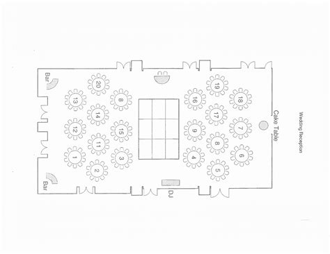 wedding reception floor plan template 28 free wedding floor plan template banquet room