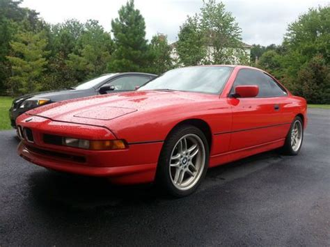 buy car manuals 1992 bmw 8 series lane departure warning sell used 1992 bmw 850i in herndon virginia united states for us 13 000 00
