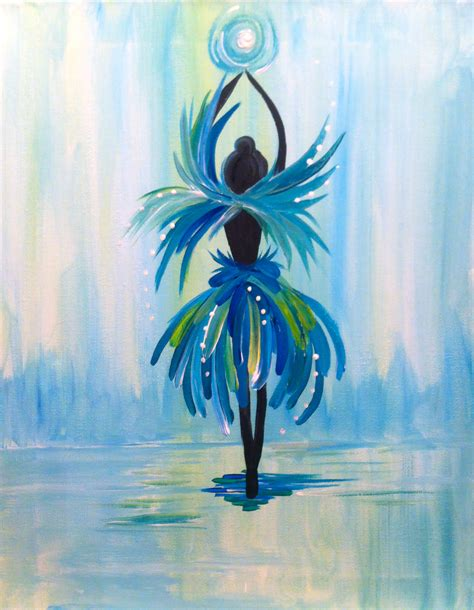 Tiny Dancer 2 At Alley Katz Paint Nite Events