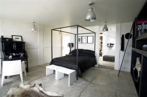 Wood Canopy Bed 10 ways to transform your interiors with industrial style