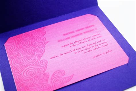 how to make handmade invitation cards how to make a simple handmade wedding invitation 10 steps