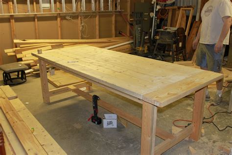 build your own dining table plans make a table for your dining room sidetracked