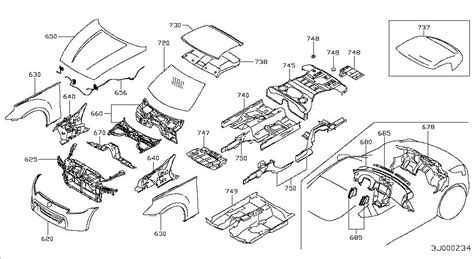 Nissan Parts by 2015 Nissan 370z Roadster Oem Parts Nissan Usa Estore