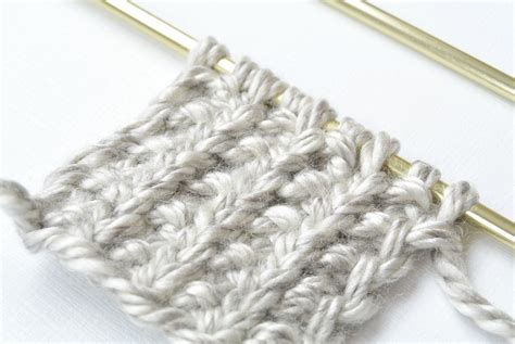 rib knit how to knit the broken rib knit stitch i like knitting