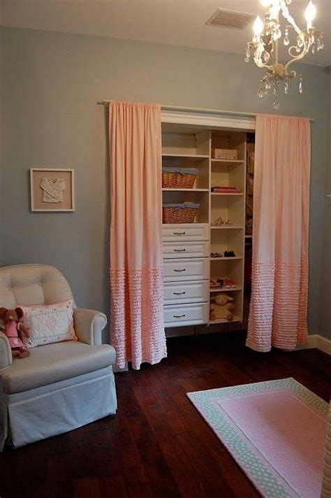closet door curtains 17 best ideas about closet door curtains on