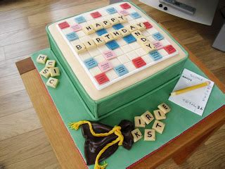 walk by scrabble board cake walk scrabble board birthday cake