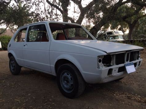 1981 volkswagen rabbit two door california car straight body ready for paint for sale in ojai