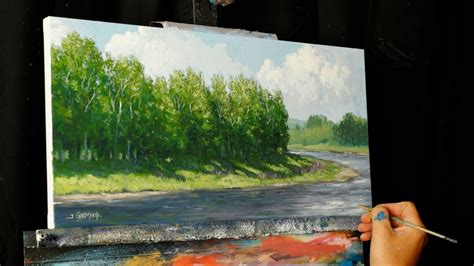 acrylic painting classes jacksonville fl lupins bend an acrylic painting lesson tim