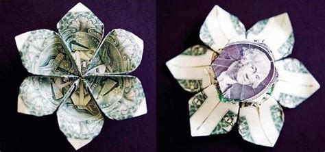 origami with money money origami flower edition 10 different ways to fold a