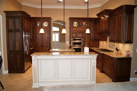 kitchen island cupboards brown kitchen cabinets modification for a stunning kitchen homestylediary